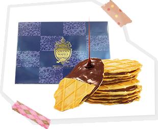 東京チョコレートワッフルサンド